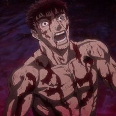Guts has a flashback to the horrors of the <a href=