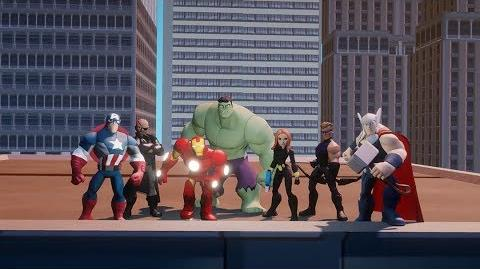 Disney Infinity Marvel Super Heroes (2.0 Edition) Announcement Trailer