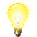 File:Bulb icon light yellow 3d.png