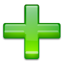 File:Plus green 3d.png
