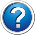 Question mark embedded blue 3d.png