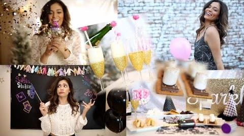 Throw a DIY Party! Quick Treats, Party favors + Outfits!