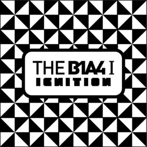 B1A4 1st studio album cover artIGNITION