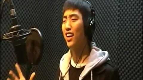 Sandeul pre-debut singing video