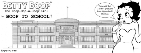 Dynamite Comics - Betty Boop in Boop to School