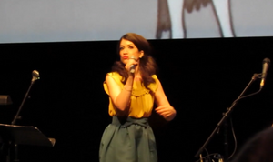 Sarah Stiles Betty Boop Olive Oyl Voice