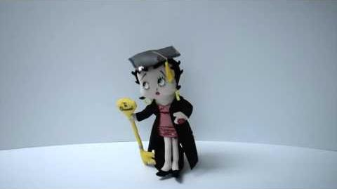 Graduation Betty Boop by Chantilly Lane®