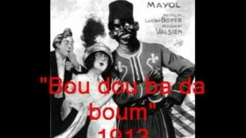 Chansons historiques de France 246 Bou dou ba da boum! 1913