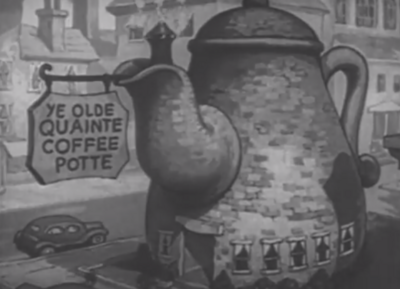 Ye Olde Quaint Coffee Shop