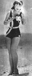 Haru Ichikawa 1935 Betty Boop