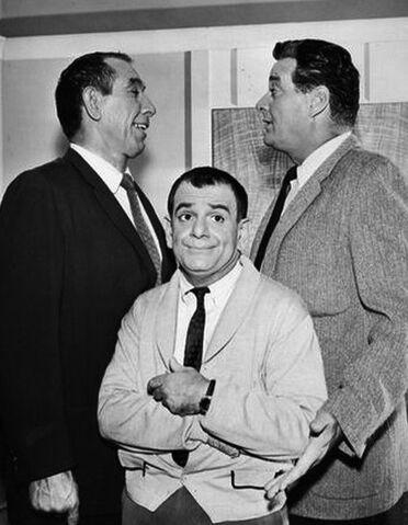 File:Sid Melton Charlie Halper Danny Thomas Show 1963.JPG