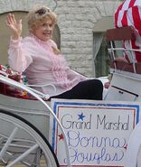 Donna Douglas in Lawrenceburg, TN Parade 2