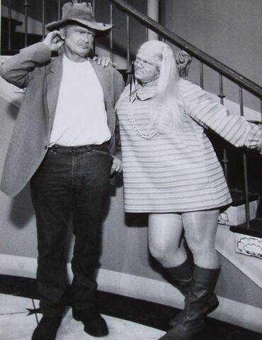 File:Buddy Ebsen Roy Clark Hillbillies 1968.JPG