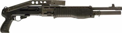 SPAS-12 stock folded