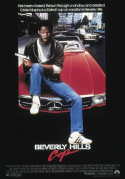 Beverly Hills Cop theatrical poster