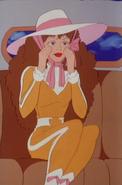 Tara in racing outfit