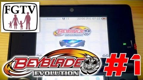 Let's Play Beyblade Evolution 3DS with the family Day 1 (Turn 3)