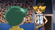 Sora challenges Kenta