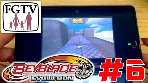 Let's Play Beyblade Evolution 3DS with the family Day 6 (Turn 40)