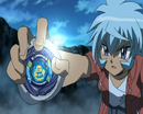 Hikaru holding Storm Aquario