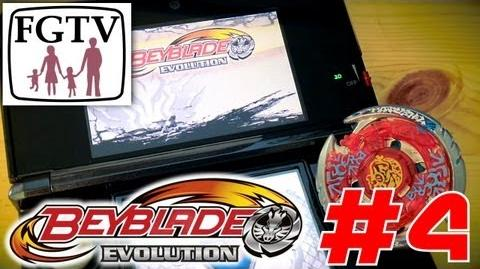 Let's Play Beyblade Evolution 3DS with the family Day 4 (Turn 10)