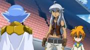 Damian meets Tsubasa and Yu