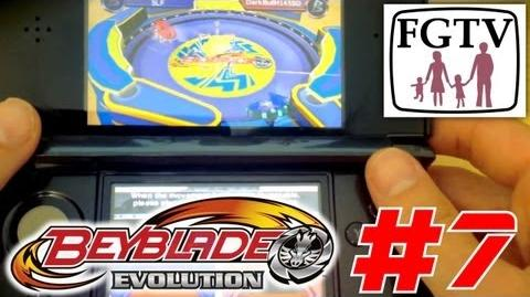 Let's Play Beyblade Evolution 3DS with the family Day 7 (Turn 45) - Tournament