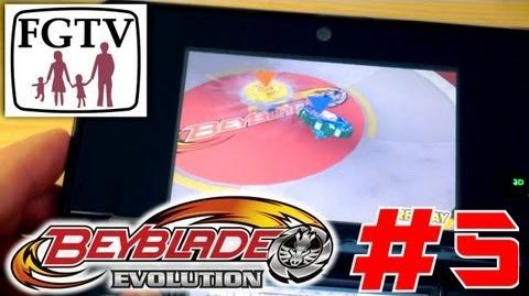 Let's Play Beyblade Evolution 3DS with the family Day 5 (Turn 36)