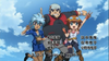 Beyblade 4D Opening 2 Hikaru, Benkei and Madoka Jump