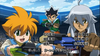 Beyblade 4D Opening 2 Masamunne, Tubussa and Yu Launches Ready