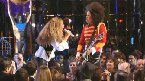 Guitar Solo from If I Were A Boy x3 - Bibi McGill with Beyonce live