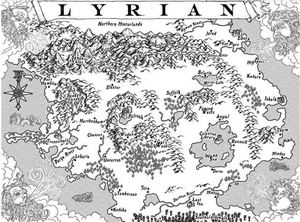 Map of lyrian