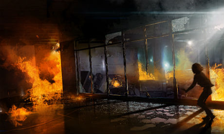 File:Artwork of Jodie escaping the burning hospital.jpg