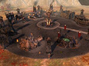 BFME 1 Mordor fort