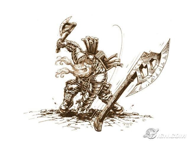 File:Dwarf Axe thrower concept art.jpg