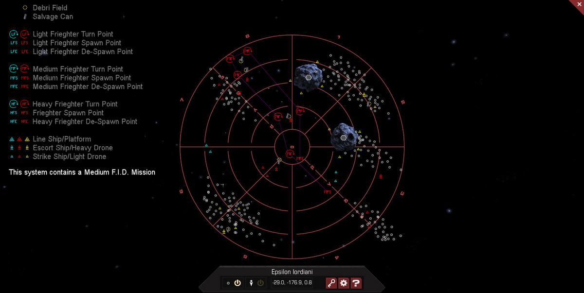 Epsilon Iordiani 3D System Map