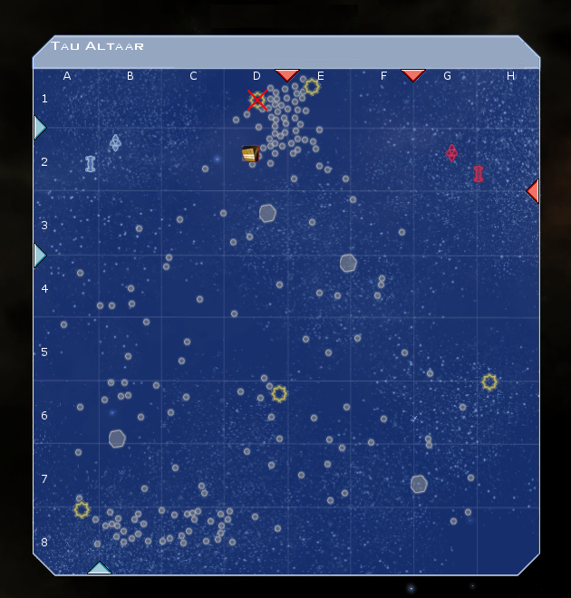 Tau Altaar System Map