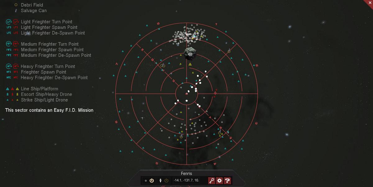 Fenris 3D System Map
