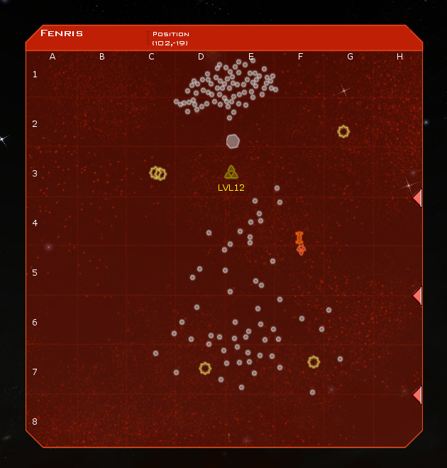 Fenris System Map