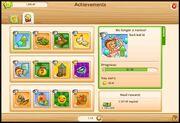 Achievement stickers