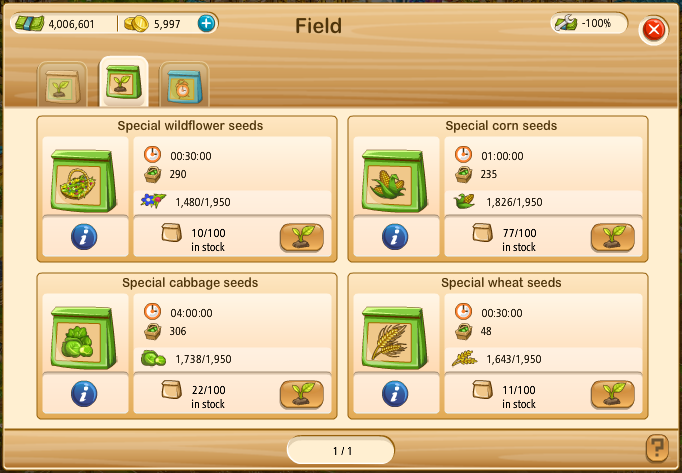 Special Seeds a