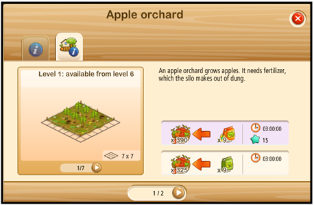 Building Apple orchard