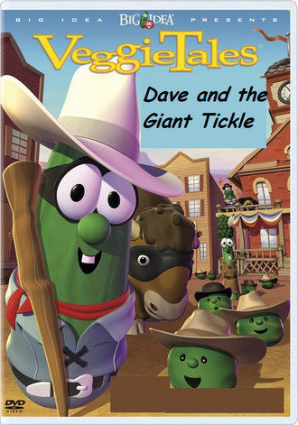Dave and the Giant Tickle DVD cover