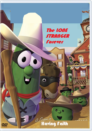 The Lone Stranger Forever DVD cover