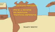 Angels of God viewing options menu