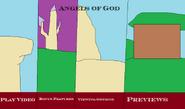 Angels of God DVD main menu