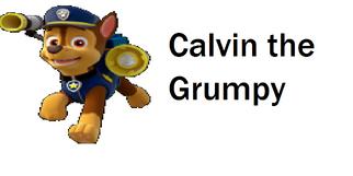 Calvin the Grumpy