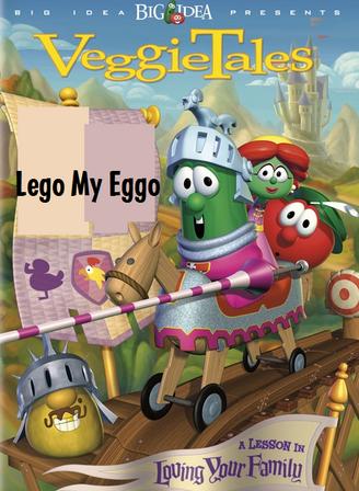 Lego My Eggo DVD cover