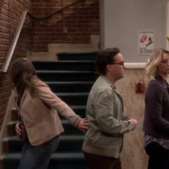 Where did Sheldon go?