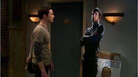 BBT - Sheldon and lifesized cutout